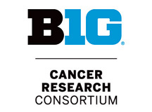 The Big Ten Cancer Consortium Logo shows the phrase B1G in stylized large type with Cancer Research Consortium underneath it.