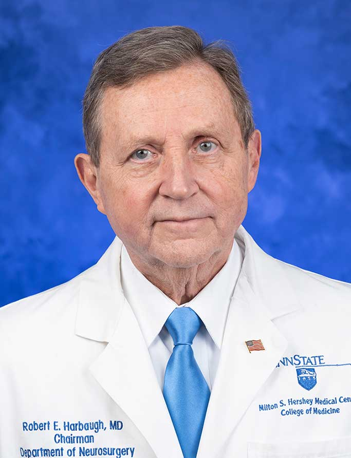 Robert Harbaugh, MD, FAANS, FACS, FAHA